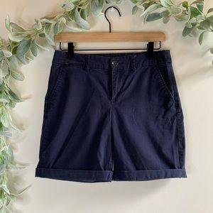 Gap | Navy Long Shorts sz 0